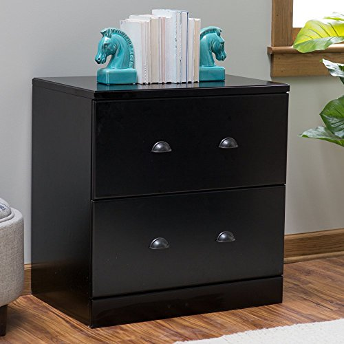 Belham Living Cambridge Lateral Filing Cabinet - Black