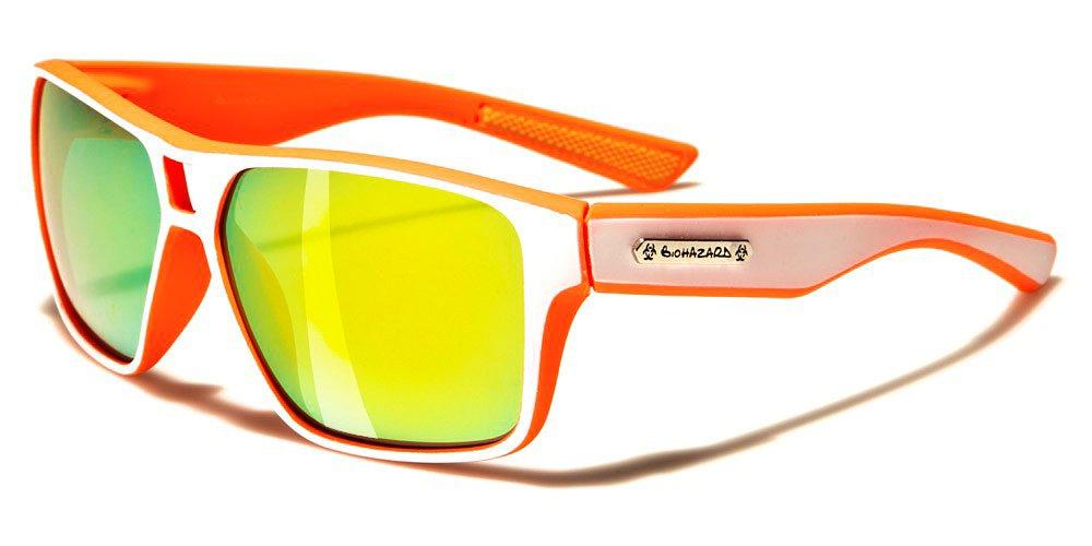 Biohazard - Occhiali da sole Moda - Sport - Ciclismo - Sci - Mtb - Moto / Meribel Arancione