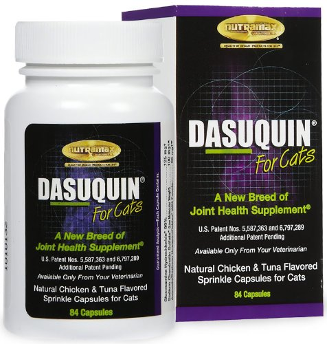Nutramax Dasuquin Supplemental Sprinkle Capsules for Cats, My Pet Supplies