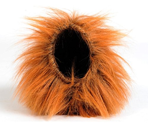 [ShonanCos Lion Mane Wig for Dog Halloween Festival Fancy Dress up Costume Size S] (Batman And Robin Tutu Costumes)