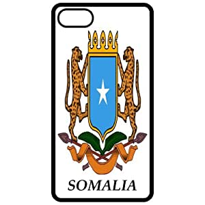 Somalia - Coat Of Arms Flag Emblem Black Apple Iphone 5 Cell Phone Case - Cover