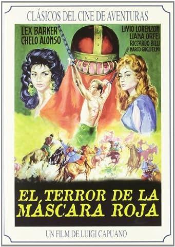 EL TERROR DE LA MASCARA ROJA : PELICULA[DVD Non-USA Format, Pal Region 2 import] (Peliculas Terror)