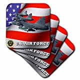 3dRose cst_61135_1 United States Air Force, Set of