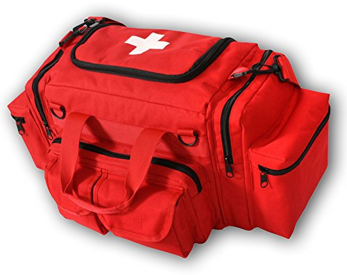 Rescue Bag - RESCUE ESSENTIALS EMT BAG (RED)