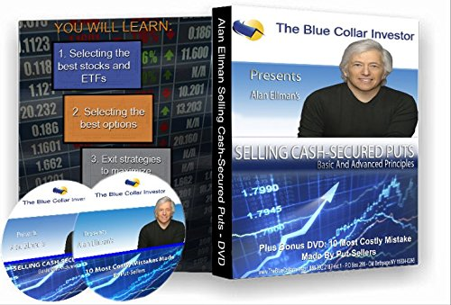 Selling Cash-Secured Puts Basic And Advanced Principles- 2 Part DVD Series + Companion Workbook PDF
