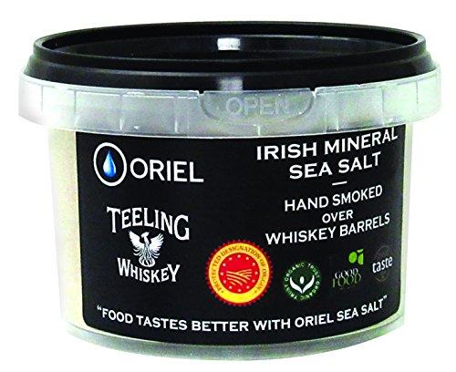 Oriel Teeling Whiskey Irish Mineral Smoked Sea Salt, 8.8 Ounce