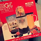 Amazon magic bullet mini high speed blender and mixer kitchen customer image fandeluxe Image collections