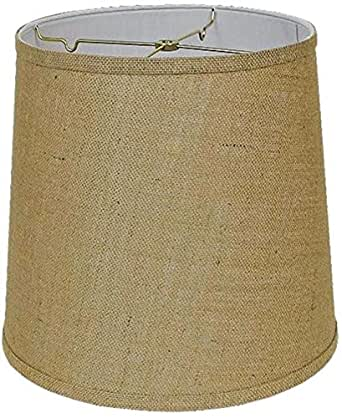 Tall Drum Burlap Lamp Shades Usa American Made By Lamp