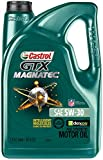 Automotive : Castrol 03057 GTX MAGNATEC 5W-30 Full Synthetic Motor Oil, 5 Quart
