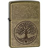 Zippo Armor Tree Life Design Pocket Lighter