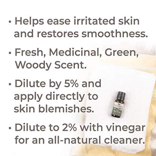 Plant Therapy Tea Tree Oil Organic (Melaleuca Essential Oil) 100% Pure, Natural, Therapeutic Grade 10 mL (1/3 oz)