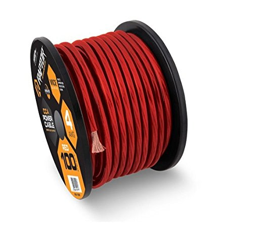 Raptor R3R4-100 Vice Series Red Power Cable
