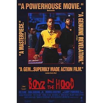 amazoncom 27x40 boyz n the hood movie poster prints