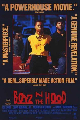 (Boyz 'N The Hood - Movie Poster (Size: 27'' x 40'') (Poster & Poster Strip Set))