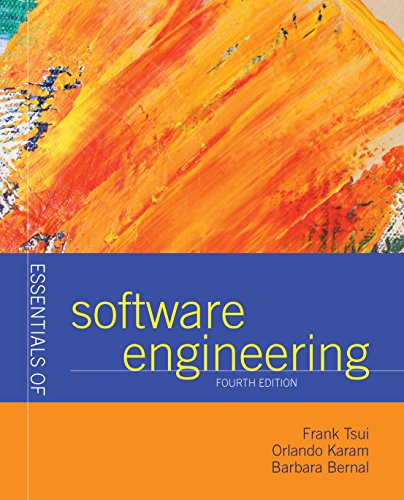 Essentials of Software - Tsui Dr