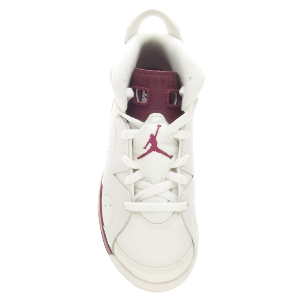 60a1be70a93 Amazon.com: Jordan 6 Retro BP 384666 116 Off White/New Maroon Size 11.5c:  Shoes