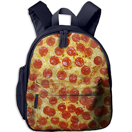 Pizza Kid School Backpack Children School Bag Navy For Boy's Girl's