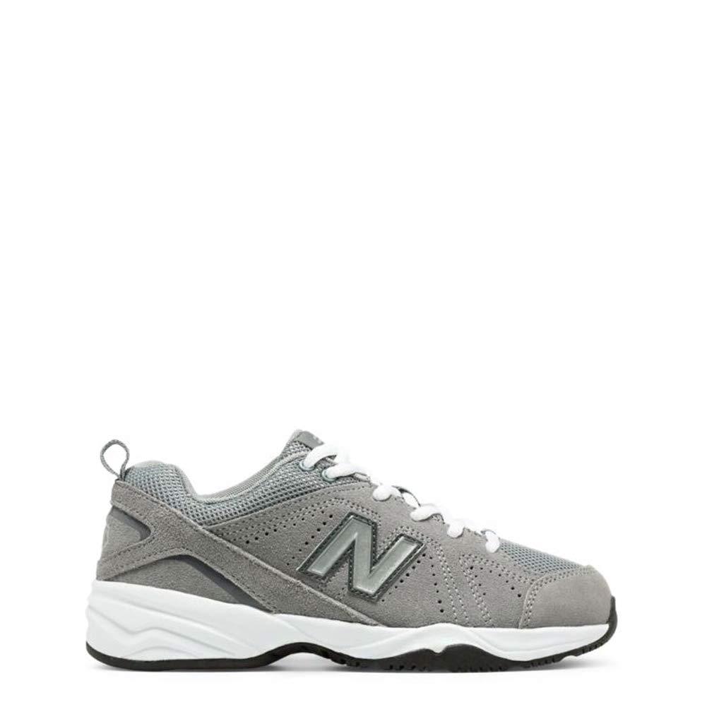 New Balance Boys' 624 Running Shoe, Light Grey - 6 M US