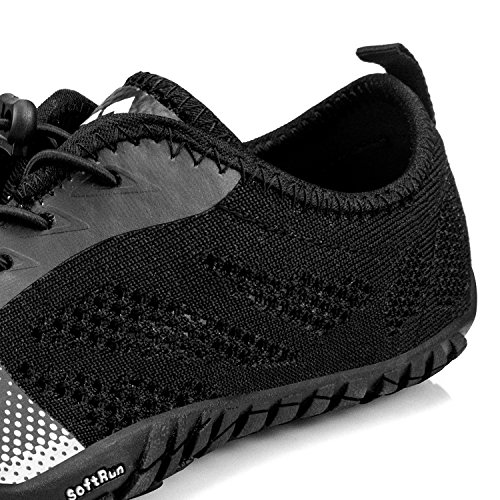 Running Slip Non Trail Quick Troadlop 6 Outdoor Drying US 5 Mens Mesh Breathable 14 Hiking Shoes All Black Lightweight Size xqw0gP