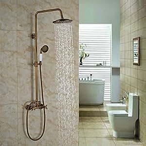 Senlesen soporte de pared ducha grifo mezclador grifos for Grifo mezclador ducha