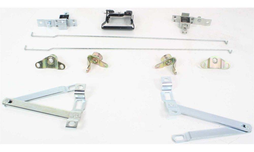 Tailgate Lock for Chevrolet C//K Full Size P//U 81-87 Set Link Latch Rod Hinge and Pivot W//Handle