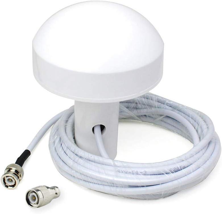 Bingfu Antena Externa de Navegación GPS Marina Barco (5m Cable) Compatible con Garmin GPSMAP Map NavTalk StreetPilot Furuno Matsutec Trimble Sonda de ...