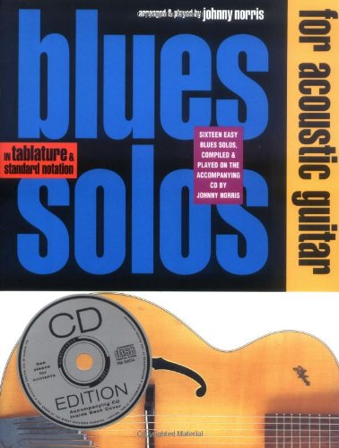 (Blues Solos for Acoustic Guitar (Guitar Books))