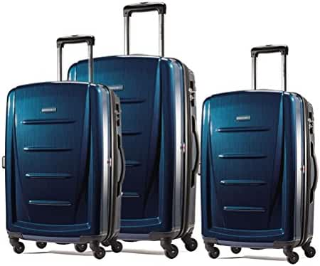 Samsonite Winfield 2 Fashion 3 Piece Spinner Nesting Set (3 pc Set Dark Blue)