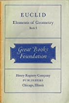 Euclid Elements of Geometry Book I by Euclid