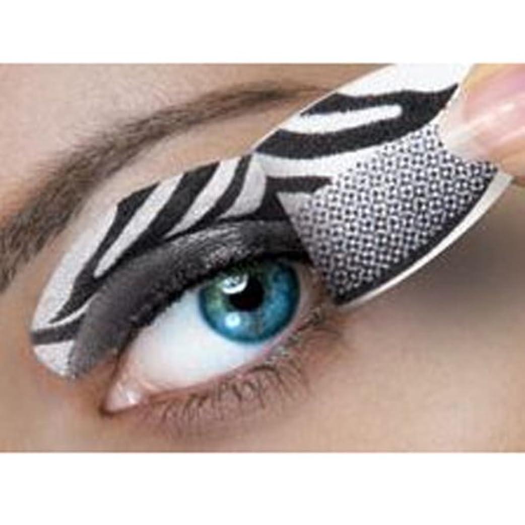 奨学金飲料カウボーイハリウッドメイク インスタントアイシャドー カラーオン White Zebra [CC045]
