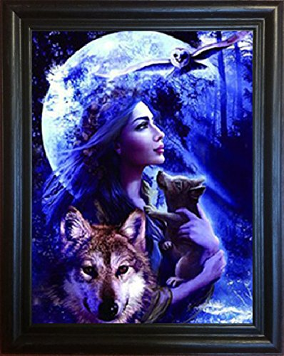 3D Art-wolf Princess- Amazing Life Like  - Make 3d Poster Shopping Results