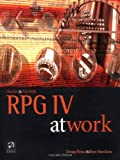 img - for iSeries and AS/400 RPG IV at Work book / textbook / text book