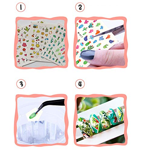 Stickers Décoration D'ongle Ongles Autocollants Nail Diy Autocollant Art Sulida FEqa8