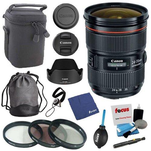 Canon EF 24-70mm f/2.8L II USM Standard Zoom Lens w 64GB SD