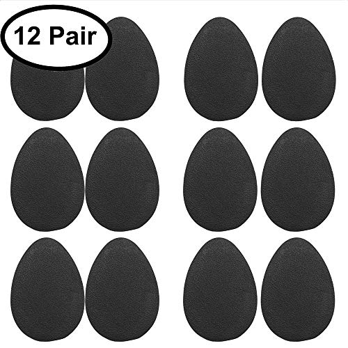 12 Pairs Anti-slip Shoe Grips, AUSAYE Self-adhesive Anti-slip High Heel Grips Shoes Pads Sole Protector Pads Sole Sticker Rubber Grippers -