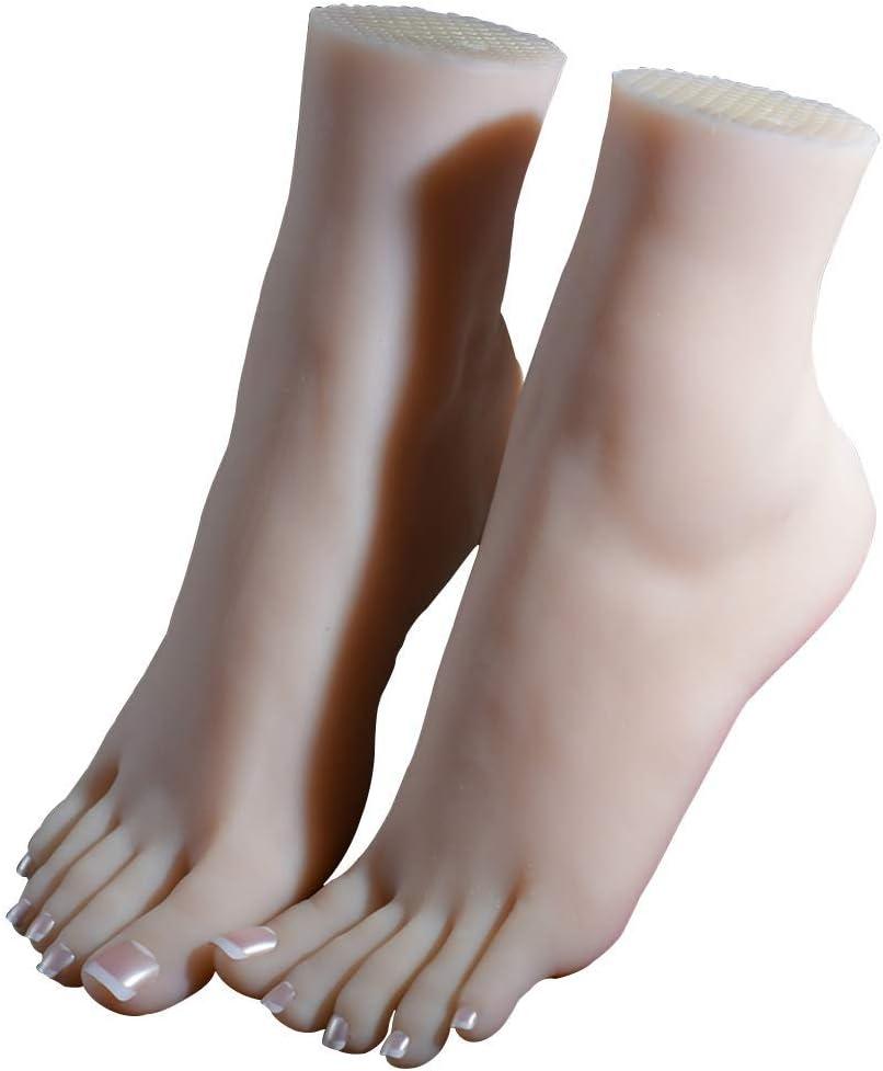 Silicone Piedi Modello Ballerina Simulazione 1 Paio Foto Scarpe Modello Lifisize 1 1