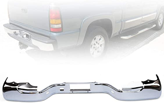 Front Bumper For 2000-2006 GMC Yukon Chrome Steel With mounting bracket s