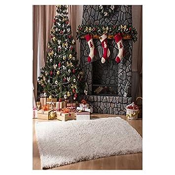 SODIAL(R) 5X7 pies Pano de imagen de tema de Navidad de vinilo accesorio