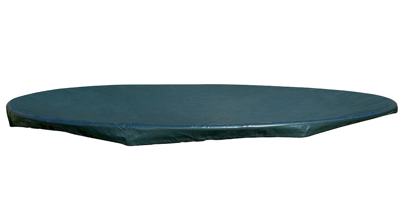 Royal Gardineer Poolabdeckung: Gewebe-Abdeckplane XXL Rund für Pool, Trampolin, 460 x 17 cm (Ø x H) (Poolplane)