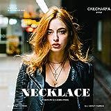 Ckecharfa Boho Layered Necklace Gold Crystal Choker