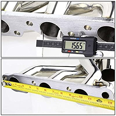 For Pontiac Grand Prix High-Performance 6-2-1 Design Stainless Steel Exhaust Header Kit: Automotive