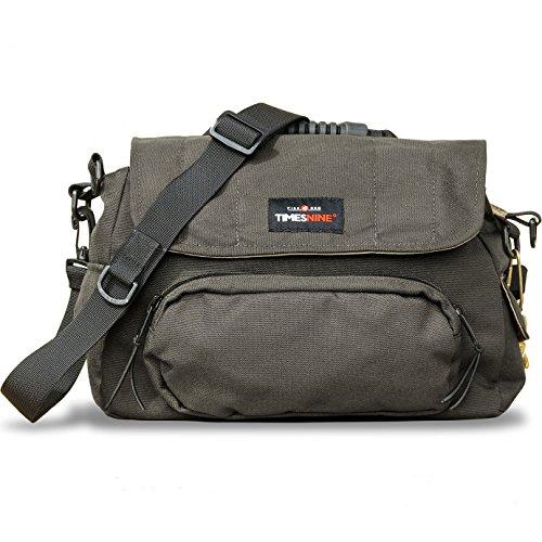 TimesNine Fisk Bag, Fly Fishing Bag with Rod Holder