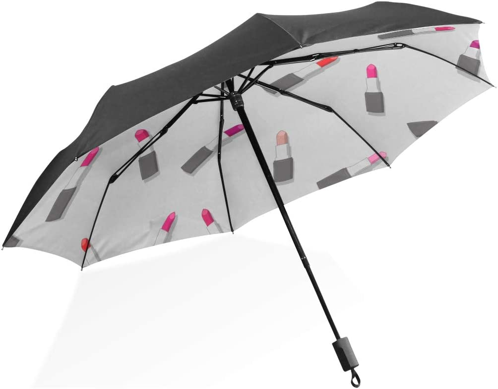 JSFDSUCM Umbrella Umbrella Sunscreen Umbrella Female Compact Portable lace Sunshade Folding Umbrella rain and rain Dual-use Girl Heart
