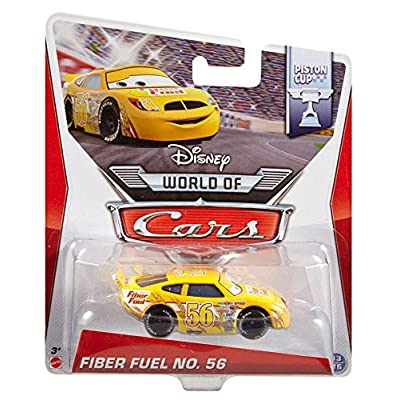 Disney Pixar Cars Fiber Fuel no. 56 Diecast Vehicle: Toys & Games