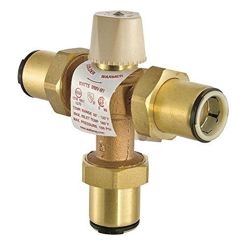 Industrial Thermostatic Mixing Valve: Thermostatic Mixing Valve, 3/4 In.