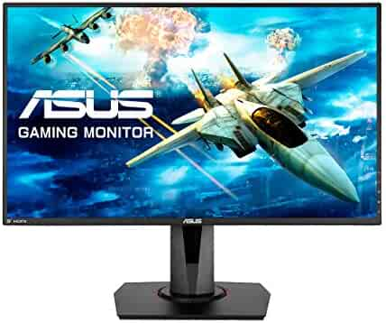 ASUS Full HD 1080p 144Hz 1ms DP HDMI DVI Eye Care Gaming LED-Lit Monitor 27