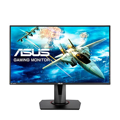 ASUS VG278Q 27 Full HD 1080p 144Hz 1ms DP HDMI DVI Eye Care Gaming Monitor with FreeSync/Adaptive Sync