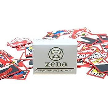 Korean Flower Card Game / Hwatu / Go-Stop / Godori by ZEDA International