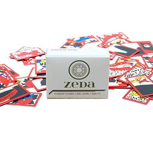 ZEDA International Korean Flower Card Game / Hwatu / Go-Stop / Godori]()