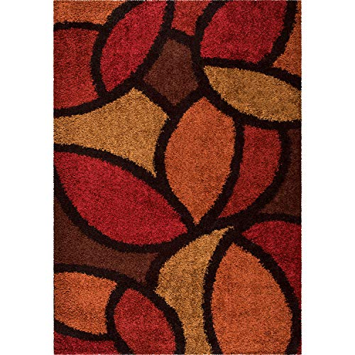Orian Rugs 1714 Shag-Ri-La Bloom Petal Area Rug 7